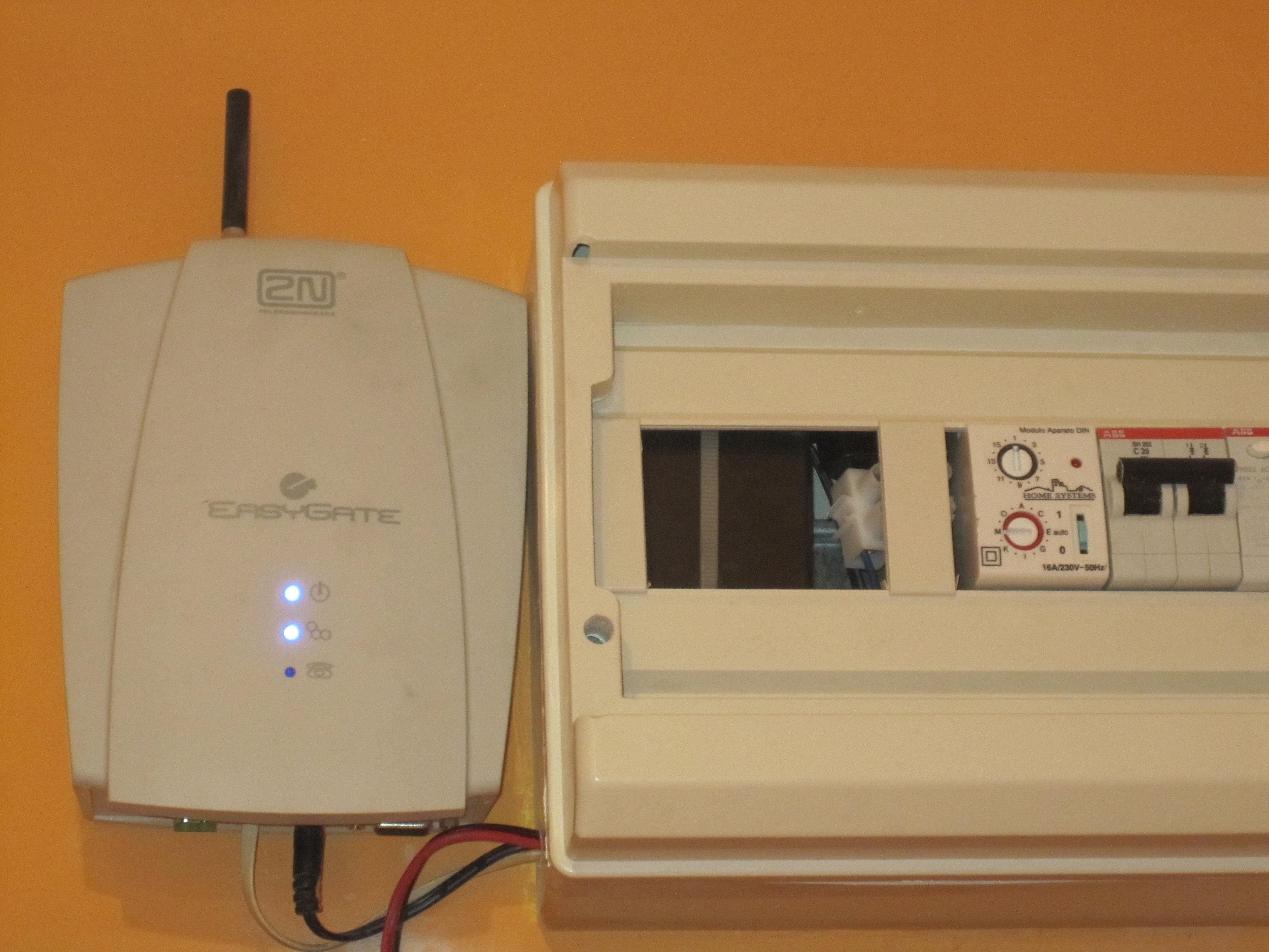 Gestion remota y alarma de casa el weblog de ivan ricondo ubanov - Poner linea telefonica en casa ...